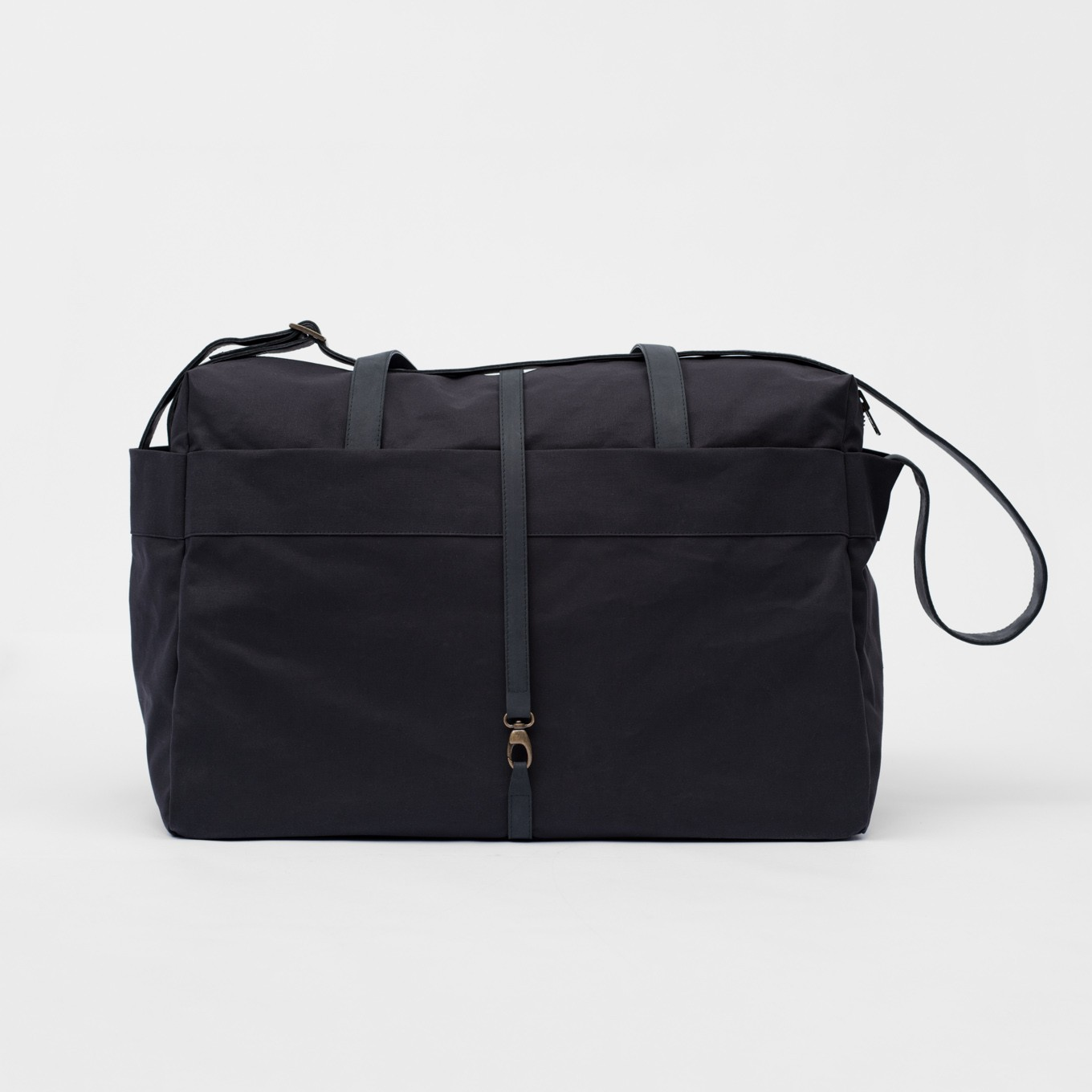 1_Travel Bag- Coated Cotton-Leather