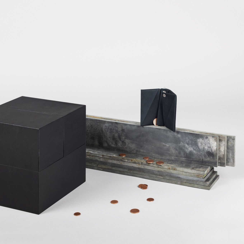 312_Wallet Small-Portemonnaie-Leather-Handmade-Slim
