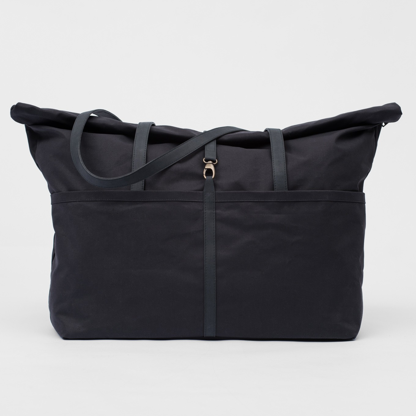 37_Weekender-Coated Cotton-Leather-Hand Luggage