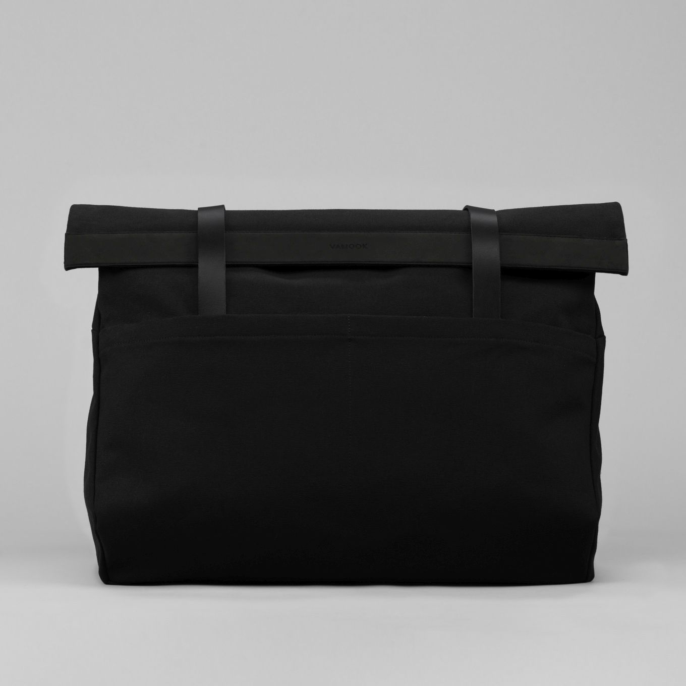 397_Weekender Bag-Canvas-Leather-Hand Luggage