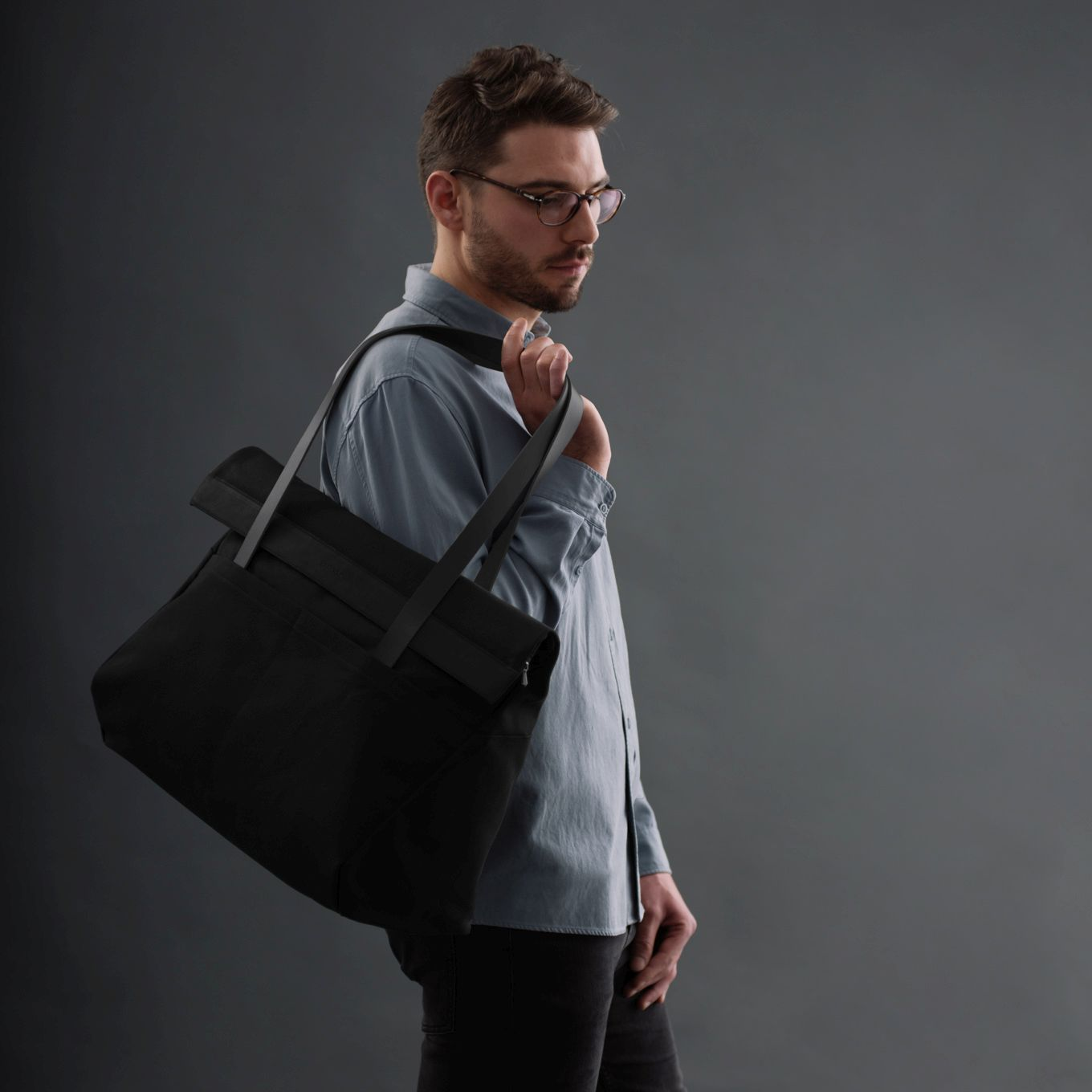 401_Weekender Bag-Canvas-Leather-Hand Luggage