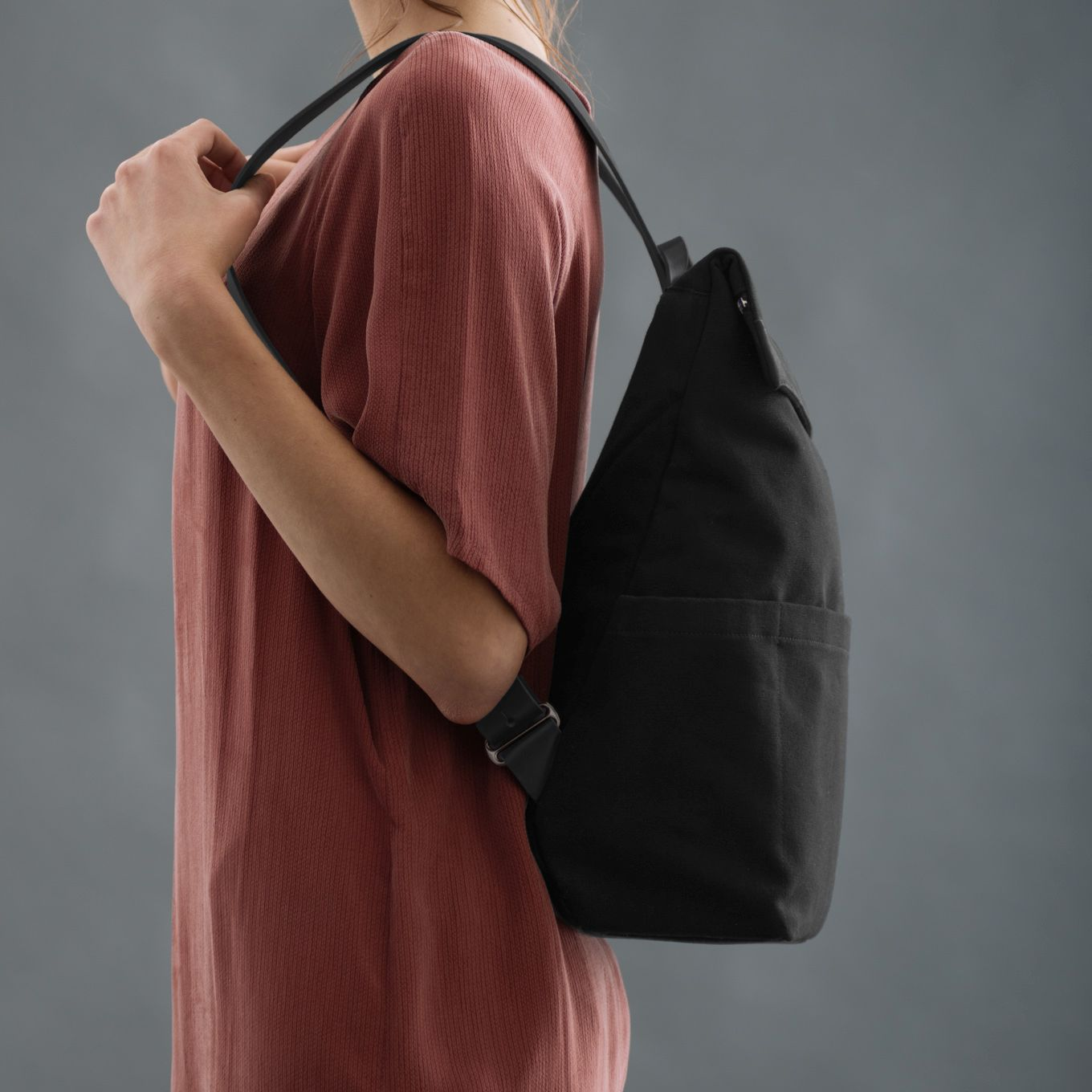 424_Backpack-Men-Canvas-Leather-integrated Laptop Case