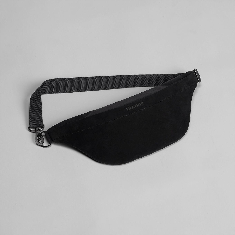 487_Waist Bag-Hip Bag-Fanny Bag-Belt Bag-Belly Bag-Leather-Coated Cotton